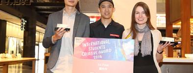 In Osaka, Japan for the International Students Creative Award
