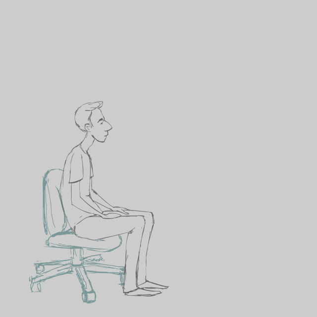 Great animation exercise 14 standing up from a chair for Animation stand